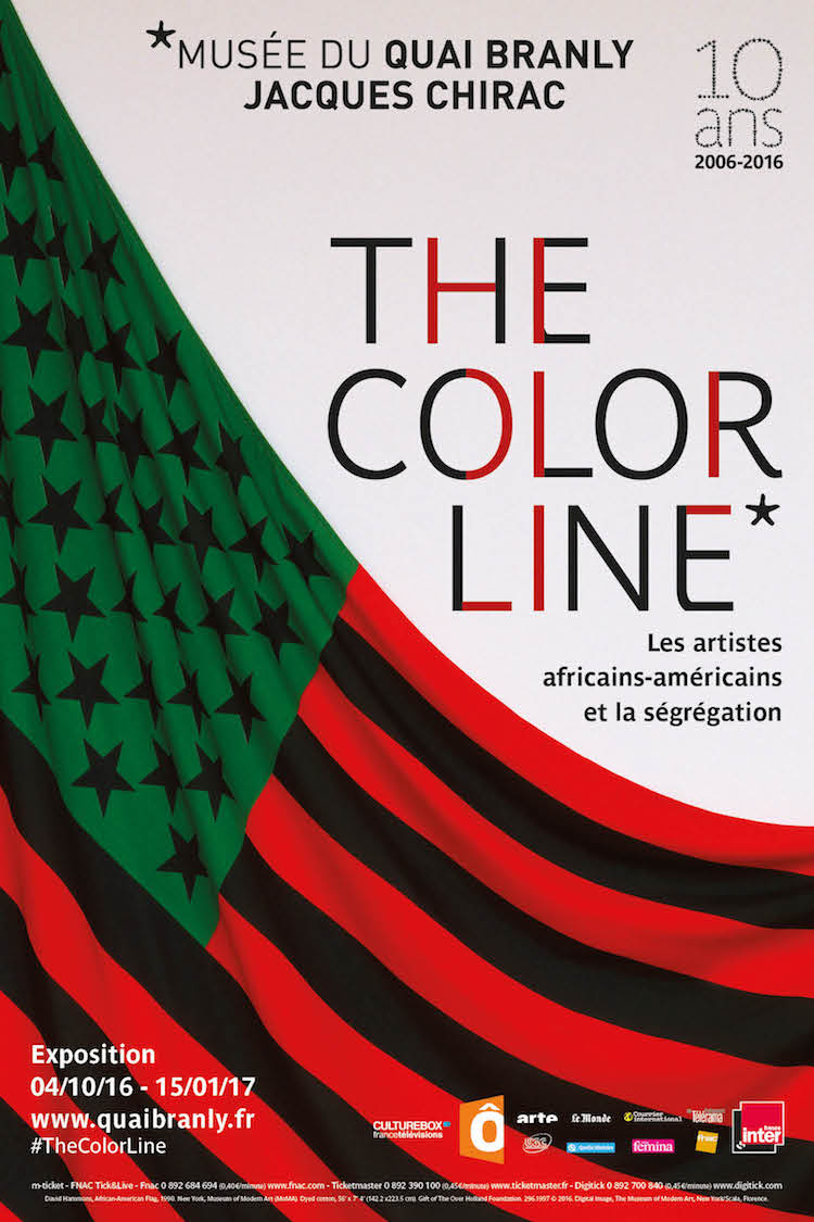 The Color Line poster -- expo in Paris