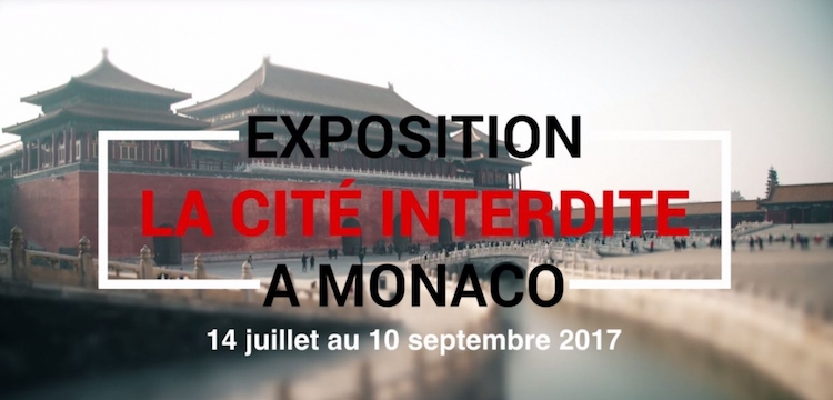 Forbidden City expo in Monaco