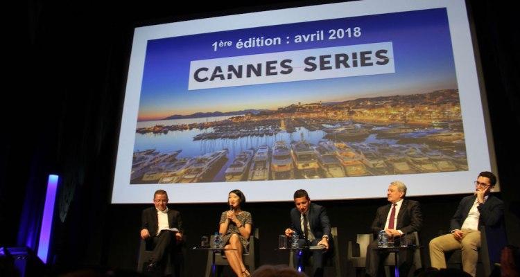 Cannes Séries launch 2017