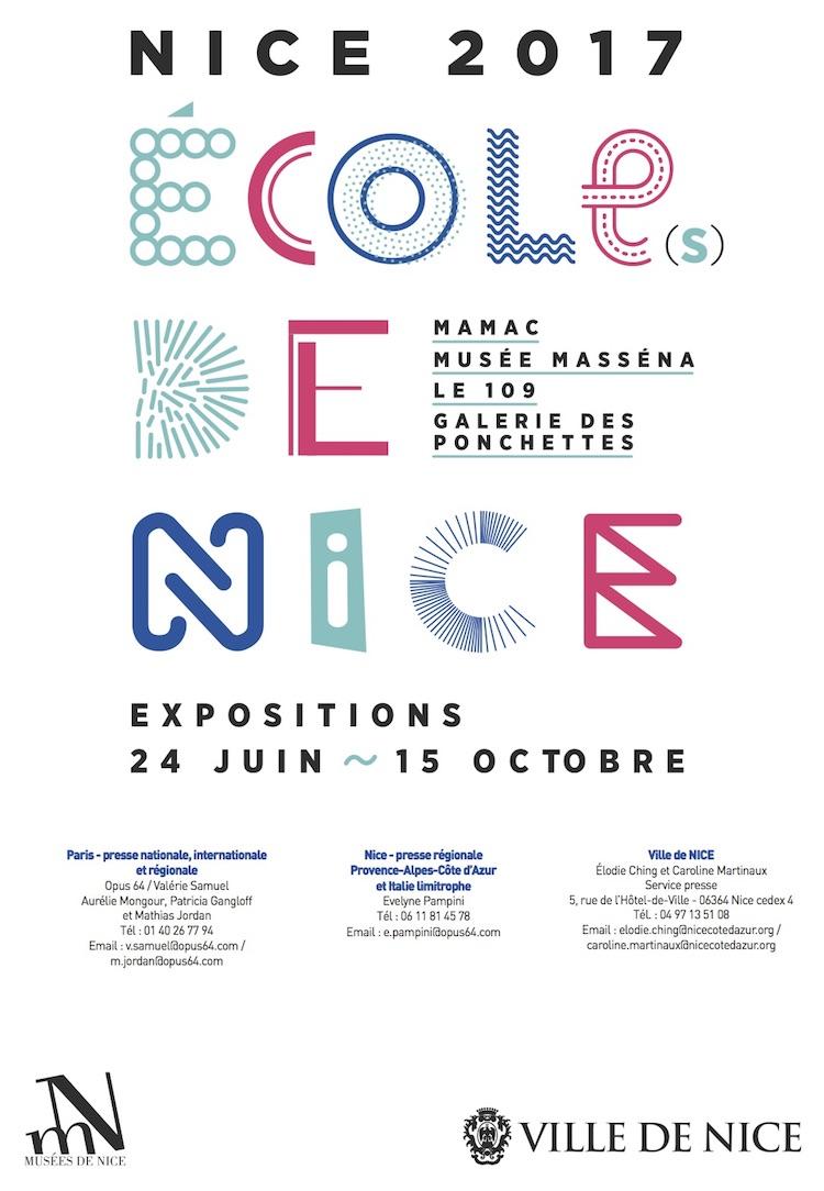 École(s) de Nice poster