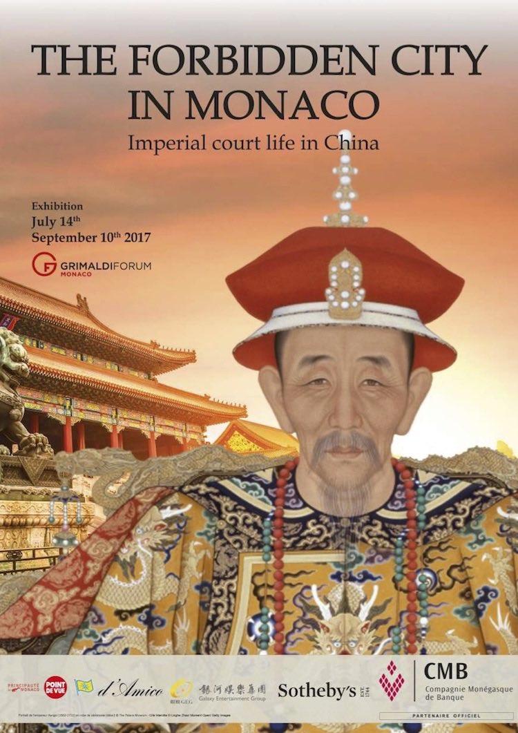 Forbidden City Monaco poster