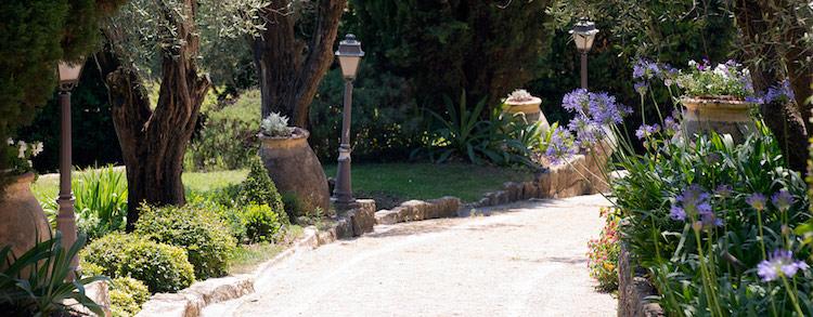 Bastide St Antoine Grasse gardens