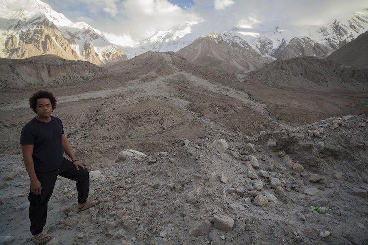 Patrick Robinson on the Karakoram Highway