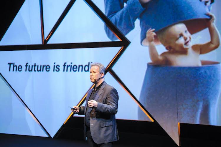 Uwe Diegel speaking