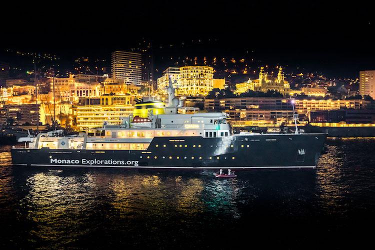 M/V Yersin in Monaco