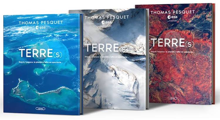 Thomas Pesquet book Terre(s)