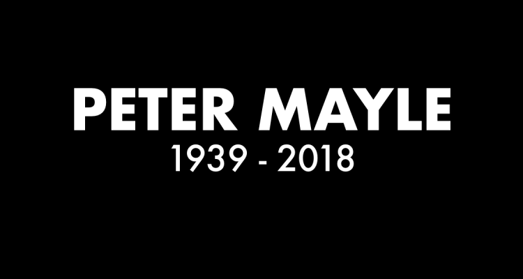 Peter Mayle RIP