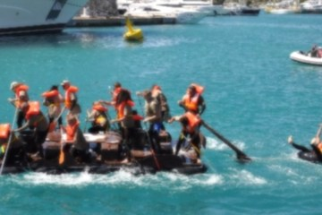 Antibes Raft Race 2012