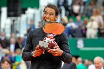 Raf Nadal Monte Carlo rolex Masters 2017 Final