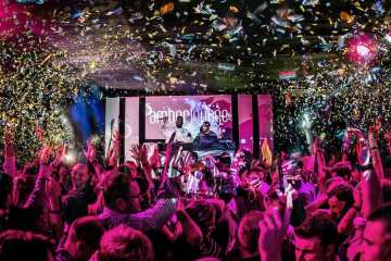 Amber Lounge Monaco afterparty atmosphere