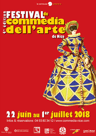 Commedia dell'Arte Nice 2018