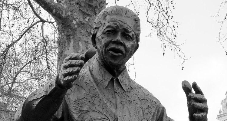 Nelson Mandela statue Westminster