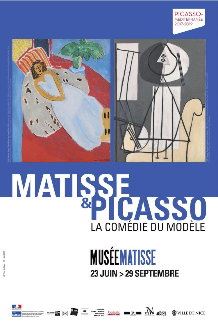 Matisse & Picasso expo poster