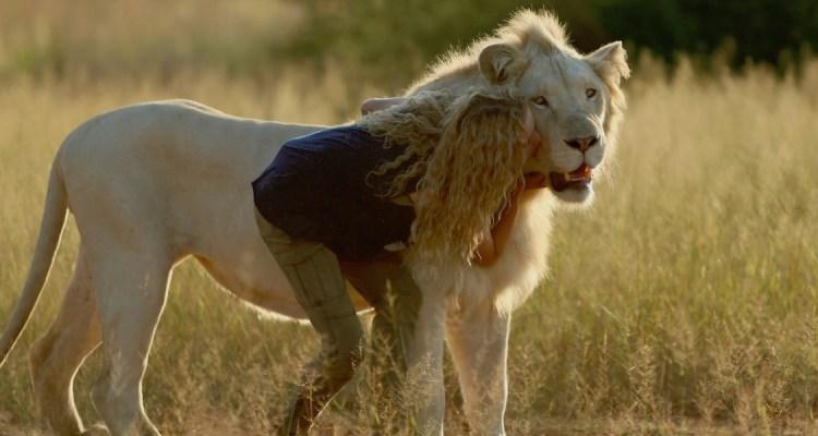Mia et Le Lion Blanc copyright Kevin Richardson