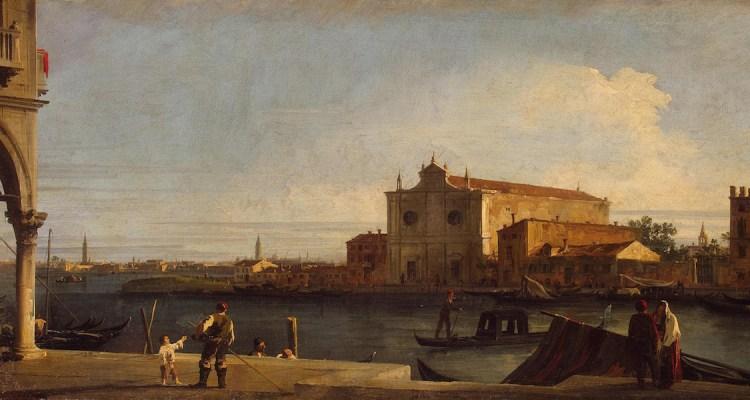 Canaletto - Veduta di San Giovanni dei Battuti a Murano