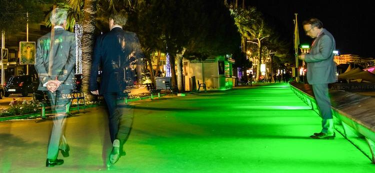 La Croisette en vert in Cannes