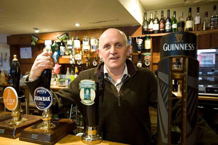 Mick Dempsey Bath barman