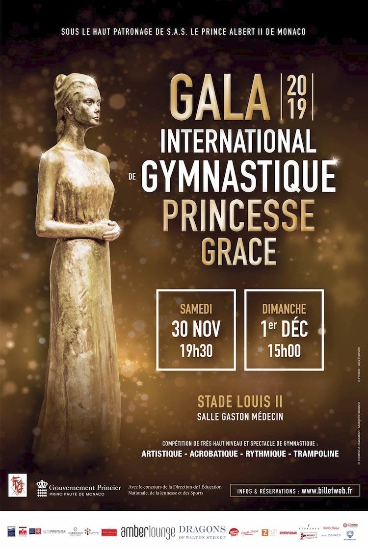 Gymnastics gala poster