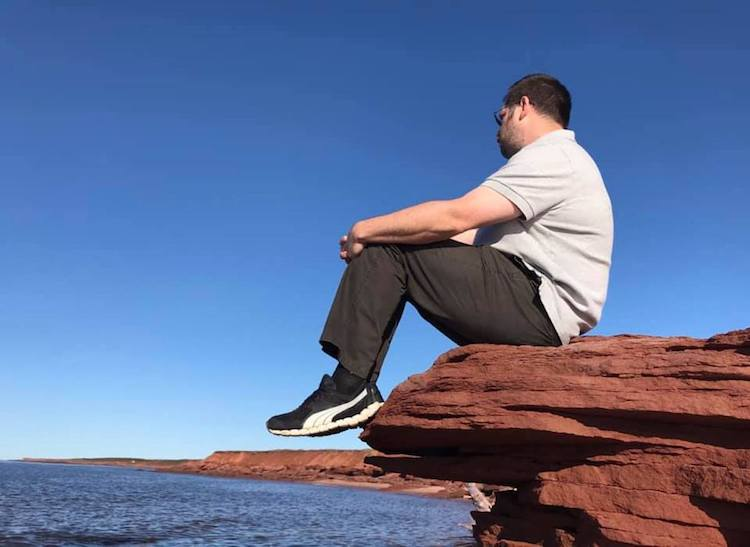 Brian on the Rocks PEI
