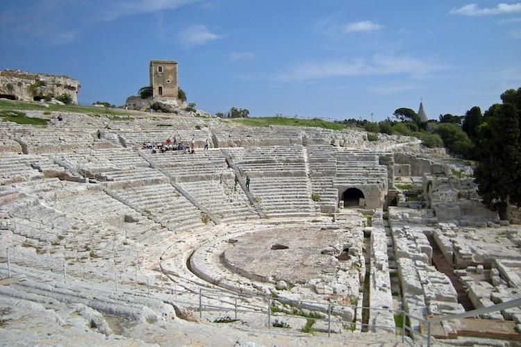 Sicilia Siracusa Teatro Greco