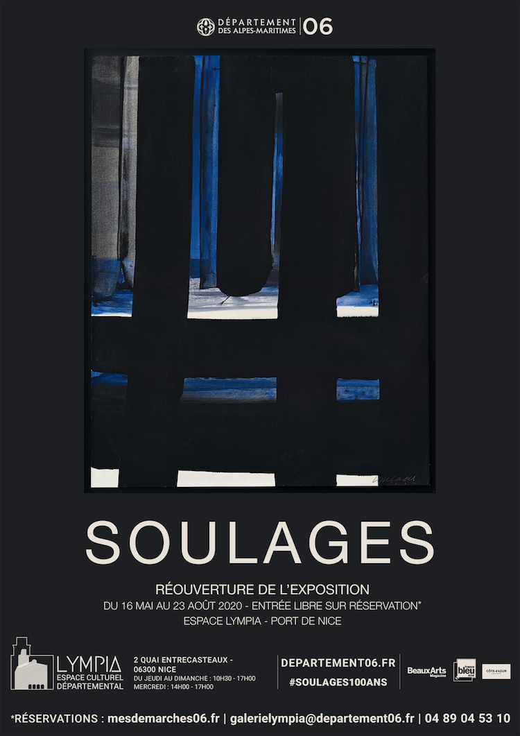 Pierre Soulages expo