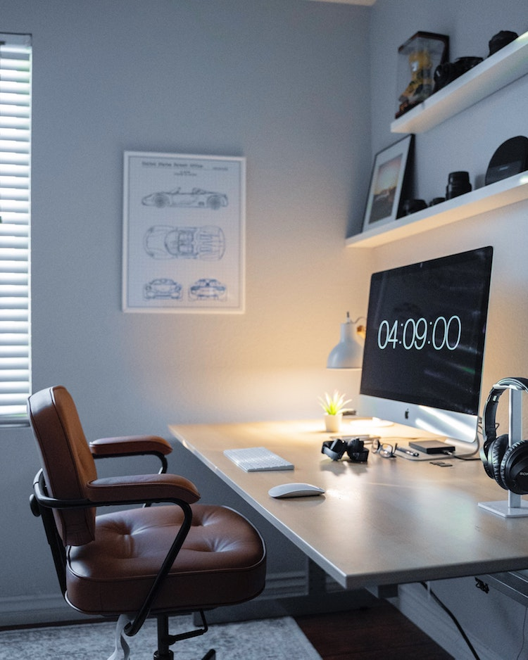 Home Office by Michael Soledad
