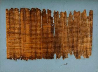 Livre des Morts de la dame Tabaakhet - © 2013 Musée du Louvre – Dist. RMN Grand-Palais / Georges Poncet