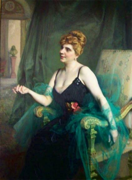 Émile Friant Catalina Pietri de Boulton