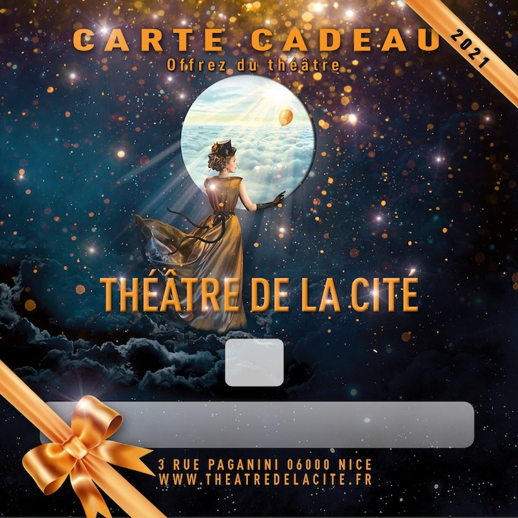 Théâtre de la Cité carte cadeau