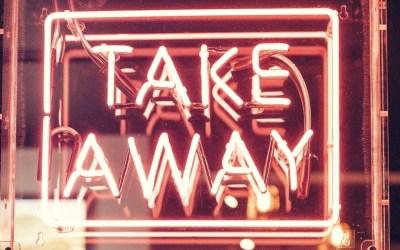 Takeaway sign
