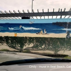 Cindy - mural in Seal Beach CA