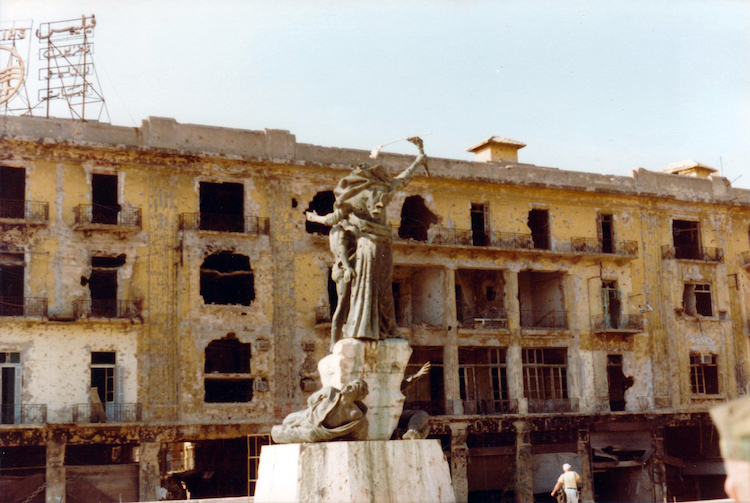 Beirut, Martyrs Square, 1982