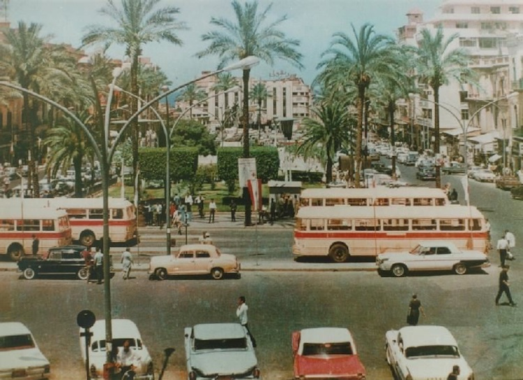 Martyrs' Square, Beirut - 1970
