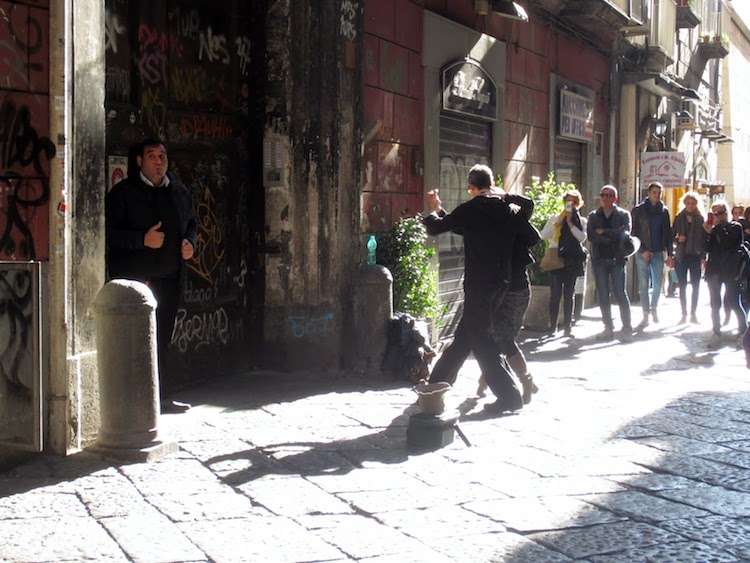 Street life in Naples, courtesy Jenny and Stephen