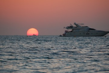 Yachting Therapy Sunset