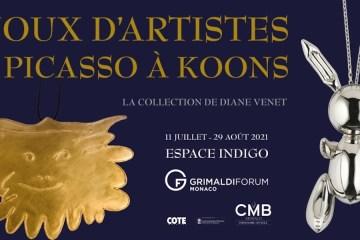 Diane Venet expo Monaco