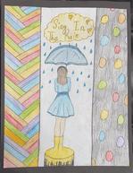 Lauren's umbrella girl