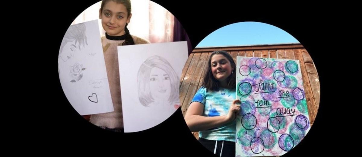 Rahma and Lauren
