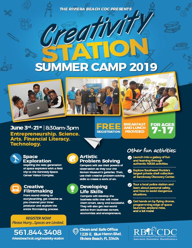 Creativity Station Summer Camp