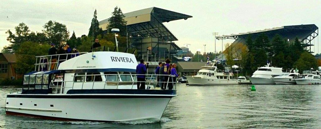 UW Husky Football, Party, Sailgating,Charter Boatfrom Seattle
