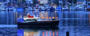 Holiday Lights on the Water in Gig Harbor