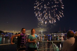 4th of July Fireworks Chartered Boat Tour