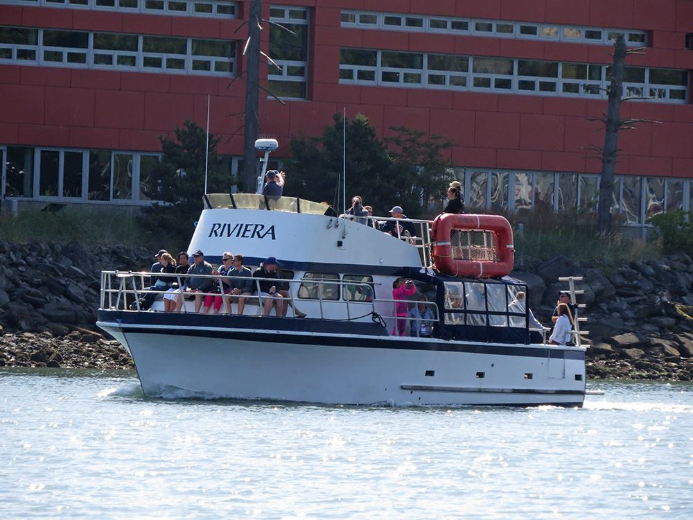 4th of July Chartered Boat Tour aboard the Riviera