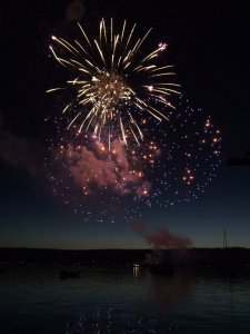 4th of July Fireworks Chartered Boat Tour aboard the Riviera