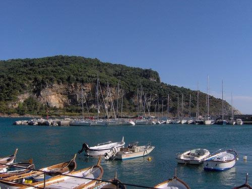 Isola Palmaria e il suo porticciolo