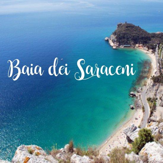Spiagge più belle della Liguria Baia dei Saraceni