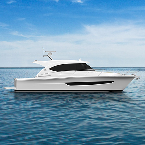 Exciting new phase for Riviera's new 395 SUV motor yacht