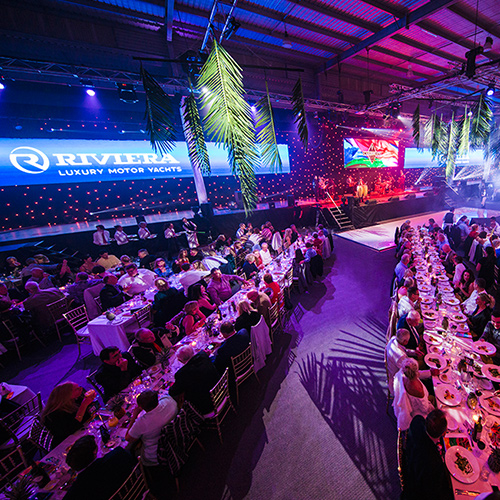 Riviera celebrates with a vibrant Caribbean adventure to mark the 2018 Festival of fun and learning and a triumphant return to the Sanctuary Cove International Boat Show