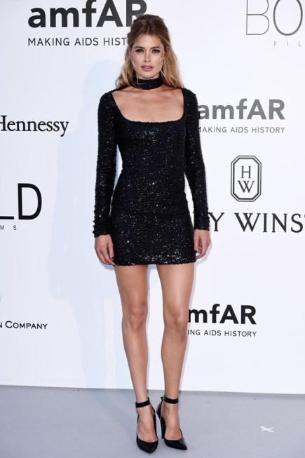 Doutzen Kroes en robe Tom Ford.