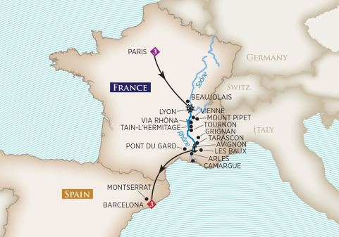 AmaWaterways 'Colors of Provence'